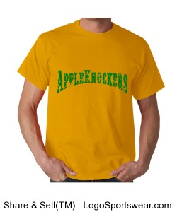 'Knockers Yellow and Green Design Zoom
